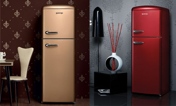 gorenje retro fridge