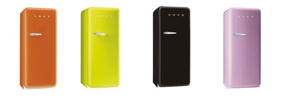 smeg retro fridges