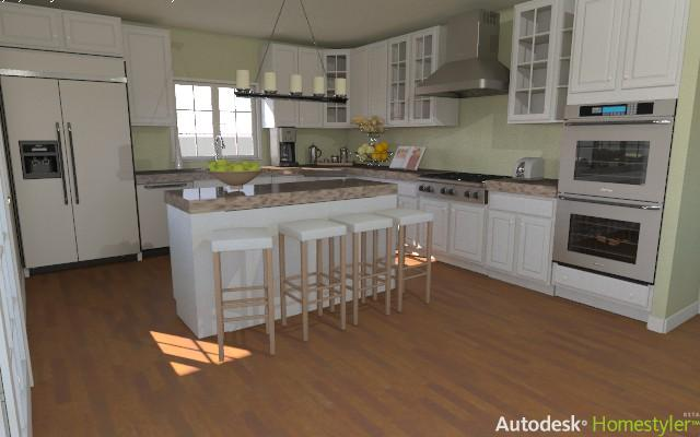 Remodel Your Kitchen With The Autodesk Homestyler