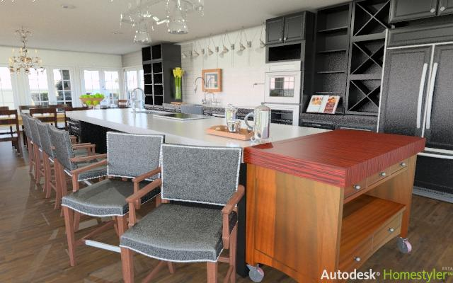 autodesk homestyler example 2. Remodel your Kitchen with the Autodesk Homestyler   The Kitchen Times