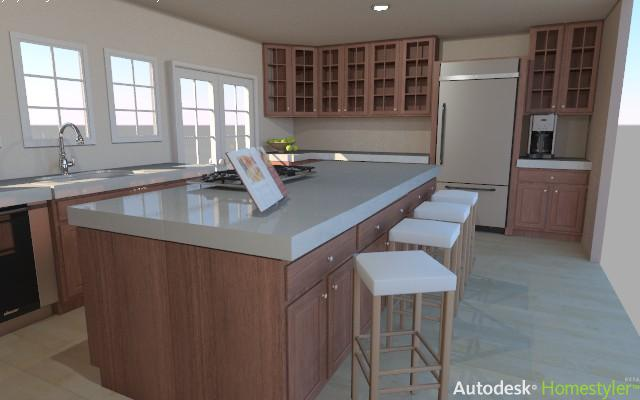 autodesk homestyler example 1. Remodel your Kitchen with the Autodesk Homestyler   The Kitchen Times