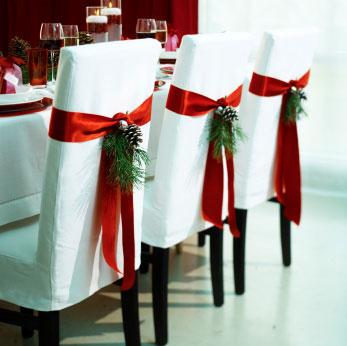 christmas chair