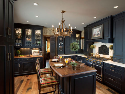 Ken Kelly Dark Kitchen. Ken Kelly Kitchen Design