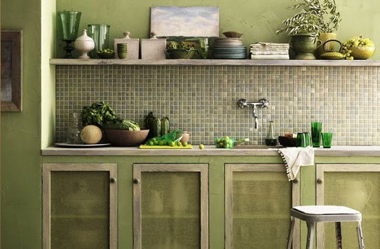 olive kitchen paint color