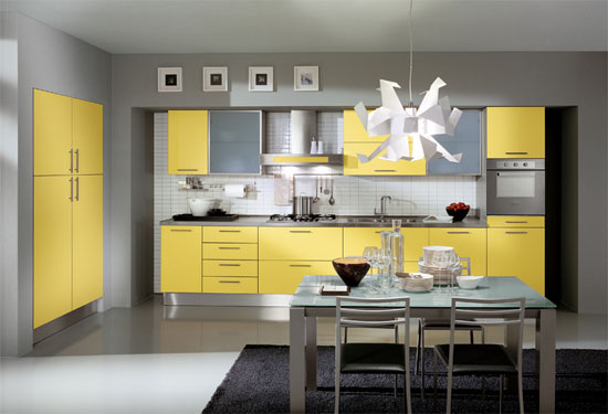 yellow kitchen color