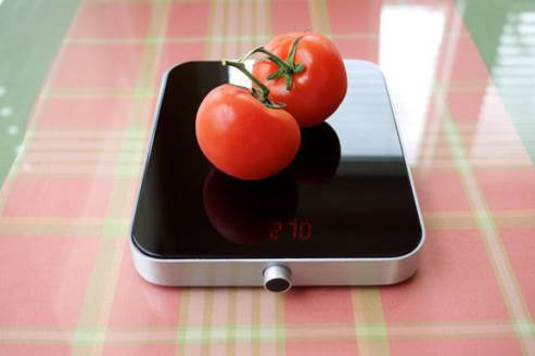 the cloer digital kitchen scale will fit in every kitchen