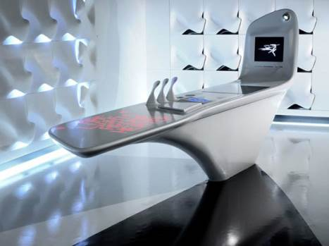kitchen island from the future