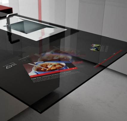 smart kitchen countertop