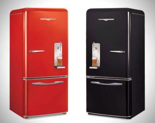 beer refrigerator - northstar brew master fridge with beer draft