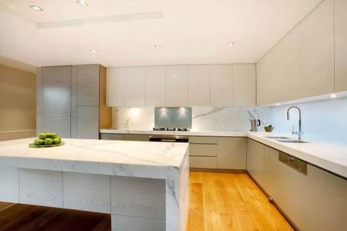 modern kitchen by canny architects