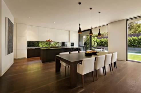 malvern house modern kitchen design