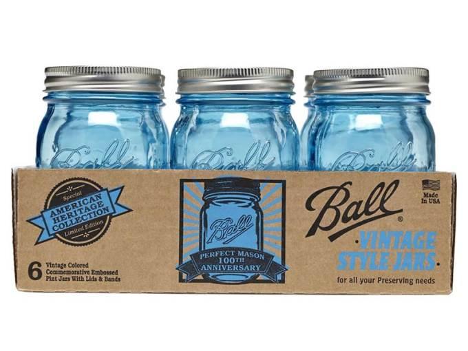 vintage jars by ball