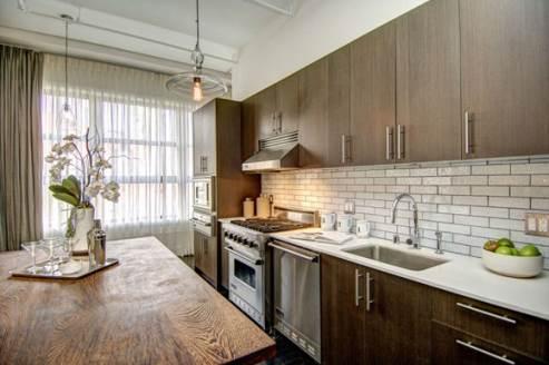 broadway loft kitchen