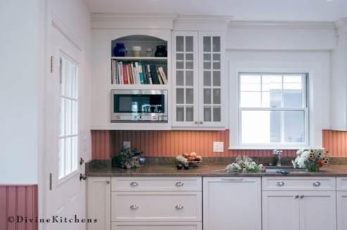 small kitchen that looks big