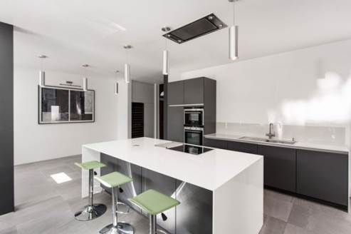 modern kitchen by ar design
