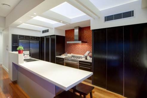 luxurious kitchen by dion seminara architects