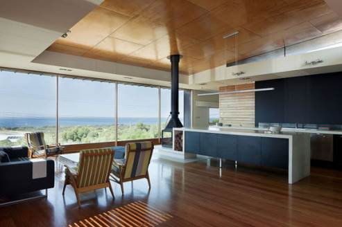 melba house kitchen by seeley architects