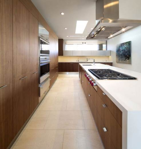 trendy kitchen by kendle design collaborative