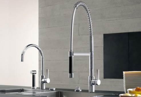 dornbracht pull down kitchen faucet