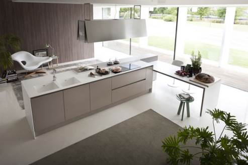 Italian Kitchen Design By Pedini