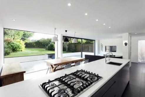 big kitchen windows