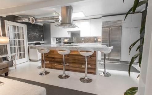 kitchen by Merlin Bergeron Design