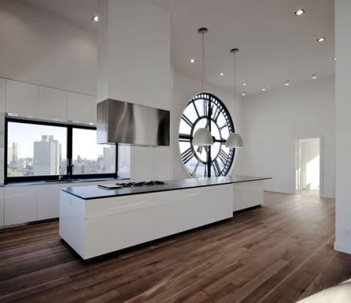 clock tower kitchen