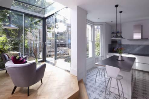 stylish kitchen photo - giles pike architects