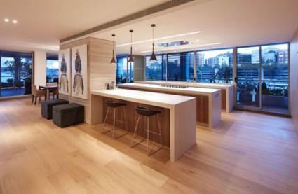 triple luxury kitchen