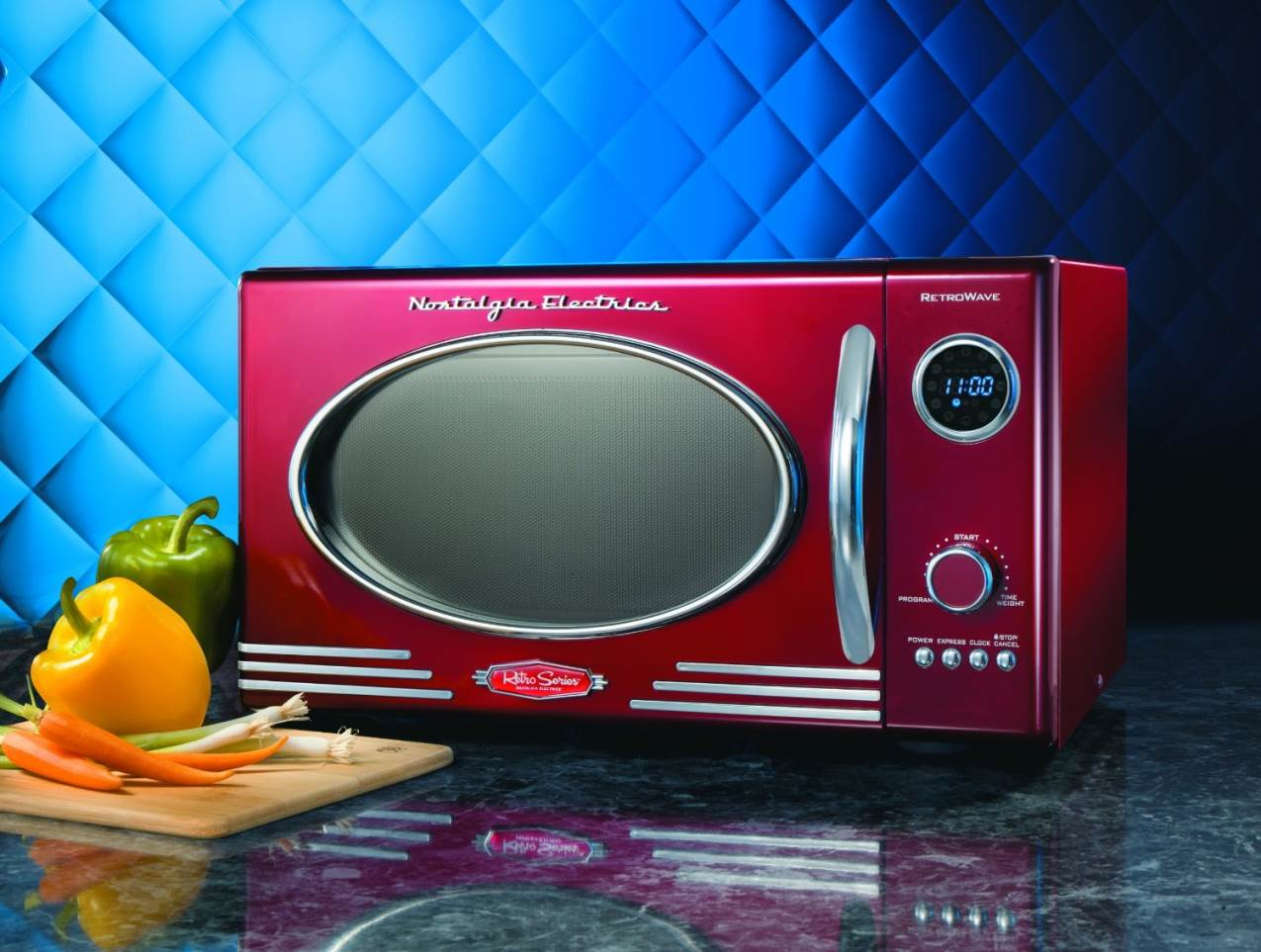 Retro Microwave Oven The Kitchen Times