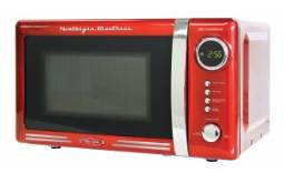 retro red microwave