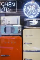 Modern appliances are borrowing nice retro styling.
