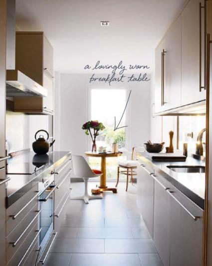 Applying Galley Kitchen Designs For Your Kitchen
