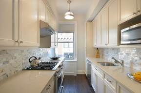 galley kitchen designs and how to go about implementing one - the