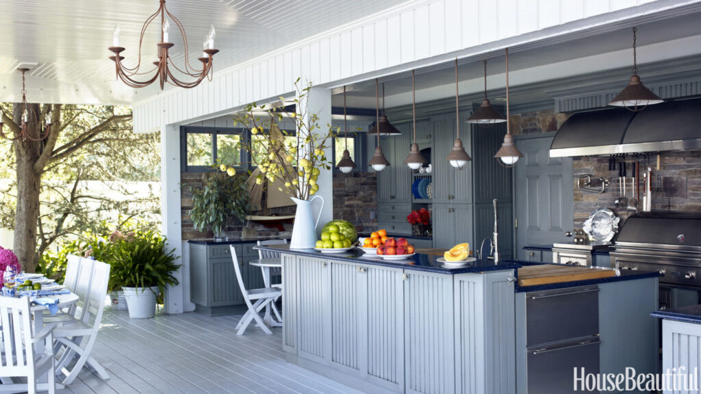 Kitchen Design Examples outdoor kitchens design and examples - the kitchen times