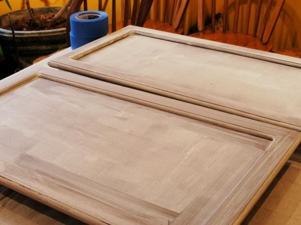 Painting kitchen cabinets yourself