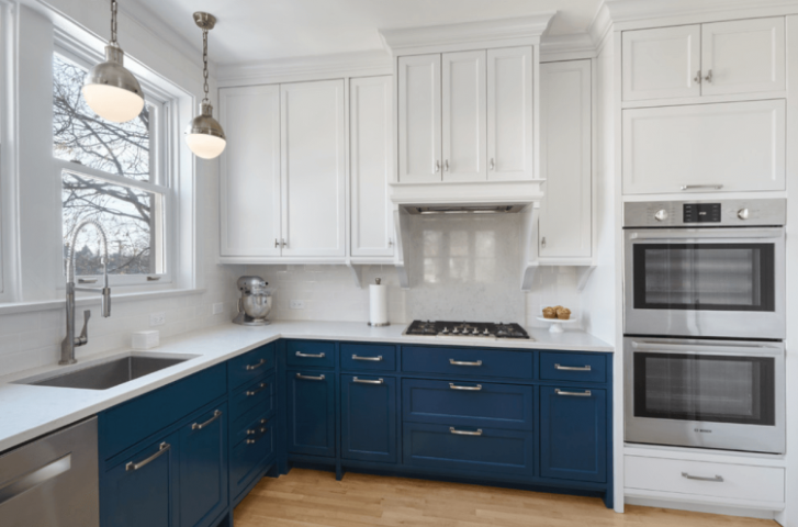 Painting kitchen cabinets yourself the kitchen times for Best latex paint for kitchen cabinets