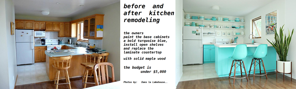 Low Cost Kitchen Renovation