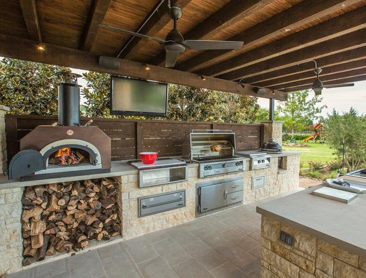 outdoor kitchen design ideas ideas for cooking and entertaining outside