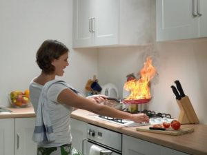 Kitchen Safety: Making the Cooking Area a Safer Place Including Fire Prevention Tips
