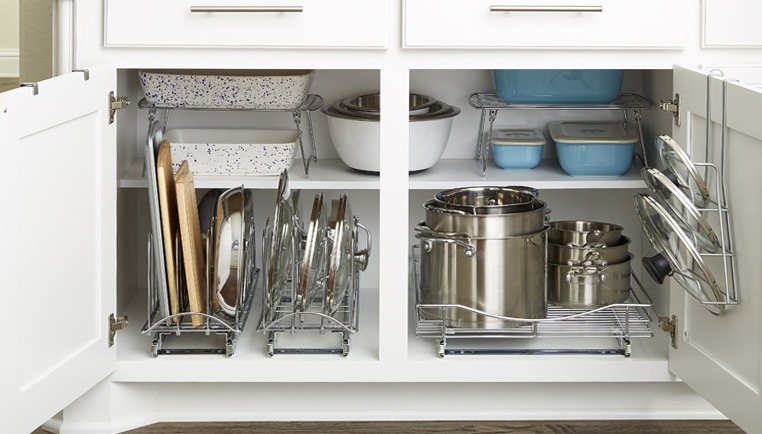 How to Organize a Kitchen Cabinets - The Kitchen Times
