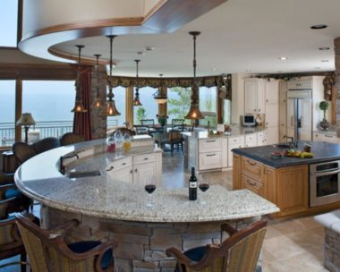 Fancy Kitchen by Carlisle Homes
