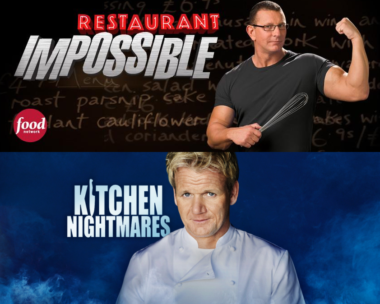 Restaurant: Impossible vs. Kitchen Nightmares